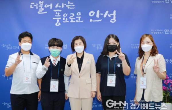 김보라 안성시장, 경기 꿈의학교 '꿈꿈기자단'과 의미있는 인터뷰 진행